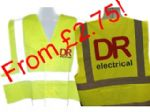 Workwear printing & embroidery